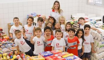 Agradecimento pela participação na Gincana Solidária (Infantil ao 5º ANO)
