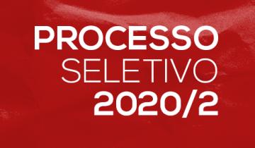 Processo seletivo de inverno 2020/2