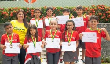 Alunos do Fundamental I premiados no Concurso Internacional de Matemática Canguru.