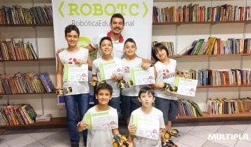 Encerramento Escolinha de Robótica