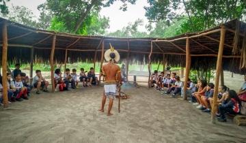 Visita a Aldeia Indígena Piraquê-Açu
