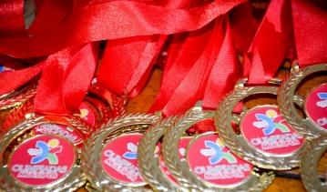Premiação das Olimpíadas Esportivas