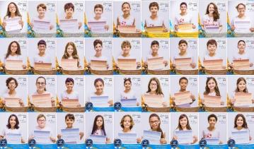 Alunos medalhistas da Olimpíada Canguru de Matemática Brasil 2018